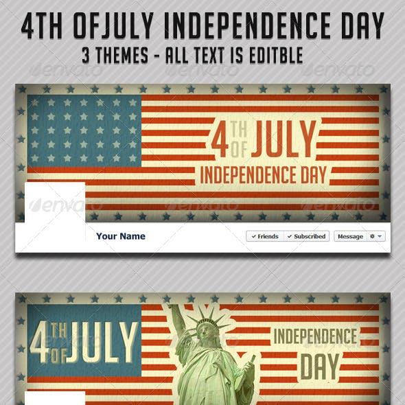 4th of July Fb Timeline