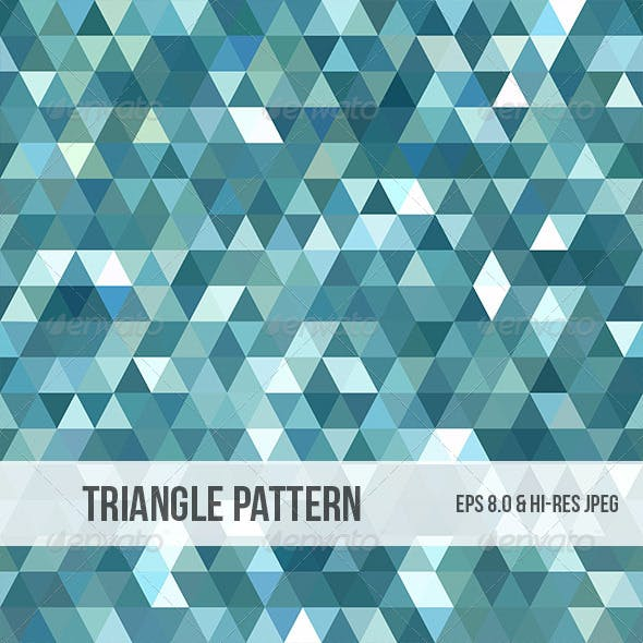 Abstract Triangle Background Pattern