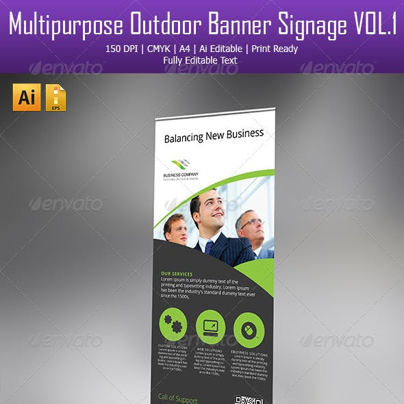 Corporate Roll-up banner - 2