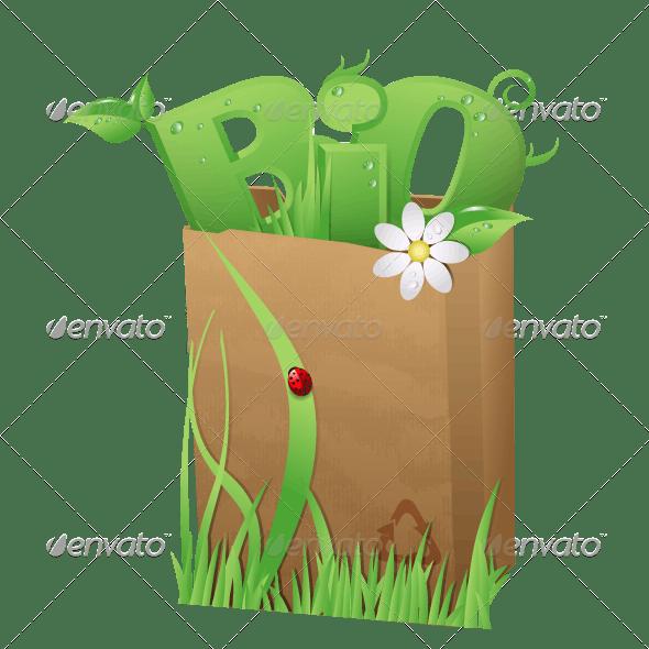 Bio Bag - Food Objects