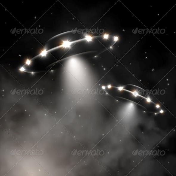 UFO in Fog