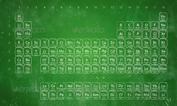 Periodic Table of the Elements - Backgrounds Business