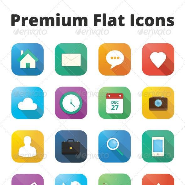 Premium Flat Icons Set