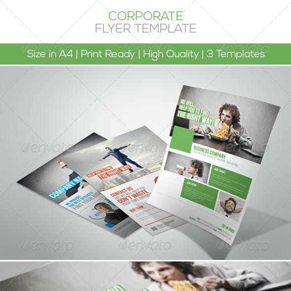 Premium Corporate Flyers Vol.3