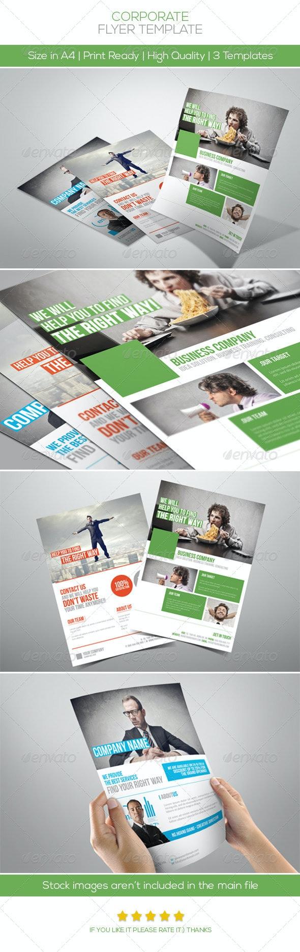 Premium Corporate Flyers Vol.3 - Corporate Flyers