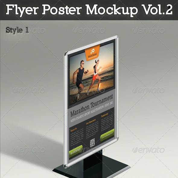 Flyer And Poster Mockup Vol.2