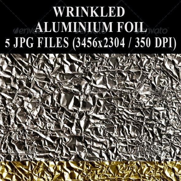 Wrinkled Aluminium Foil