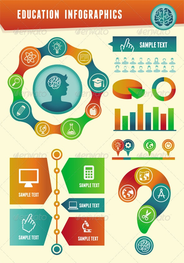 Vector education infographics  - Infographics