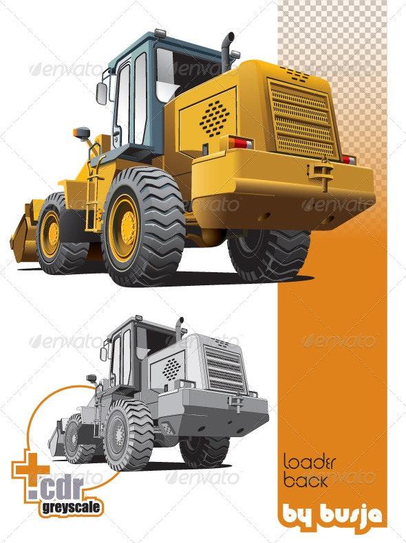 Loader_back - Industries Business