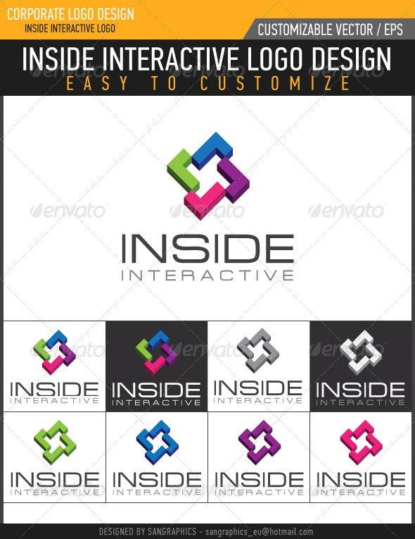 Inside Interactive Logo - Symbols Logo Templates