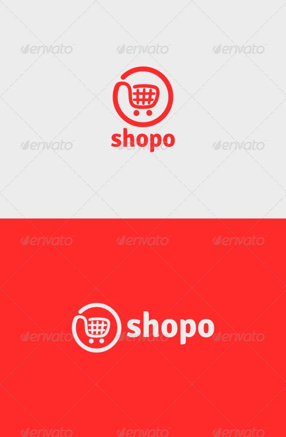 Shopo Logo - Objects Logo Templates
