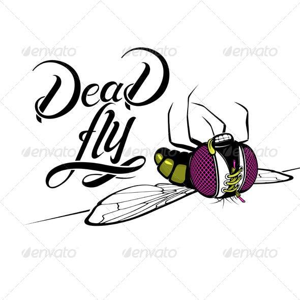 Cartoon Dead Fly