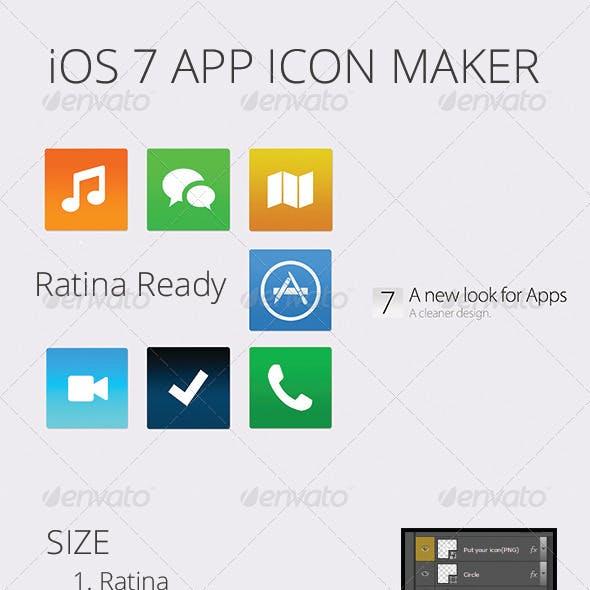 iOS 7 App Icon Maker
