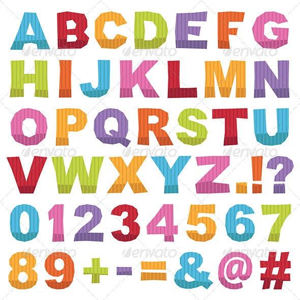 Alphabet Cut Outs