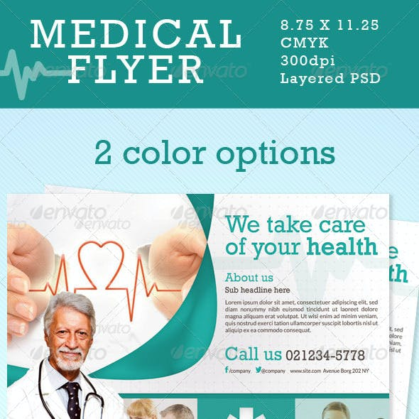 Medical Flyer in 2 Colors