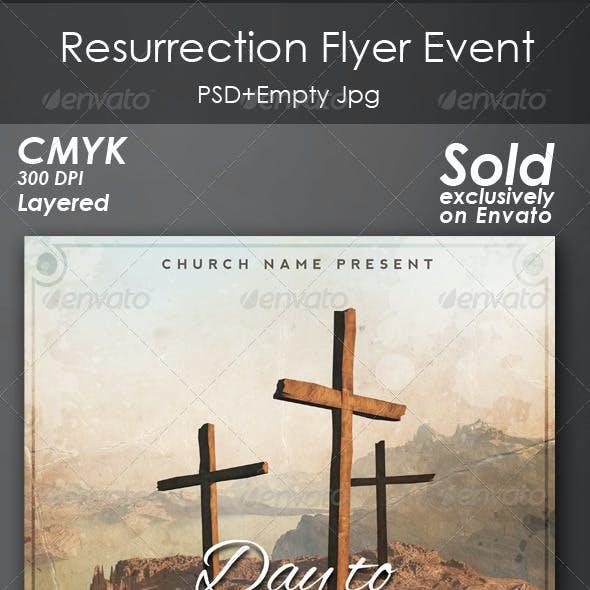 Resurrection Flyer Event