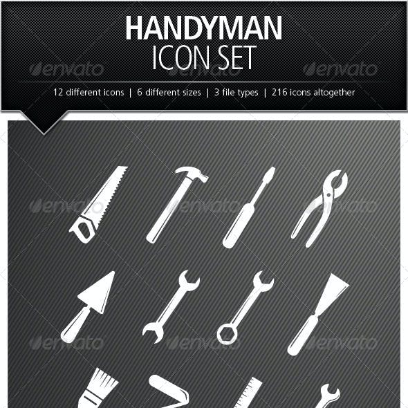 Handyman Icon Set