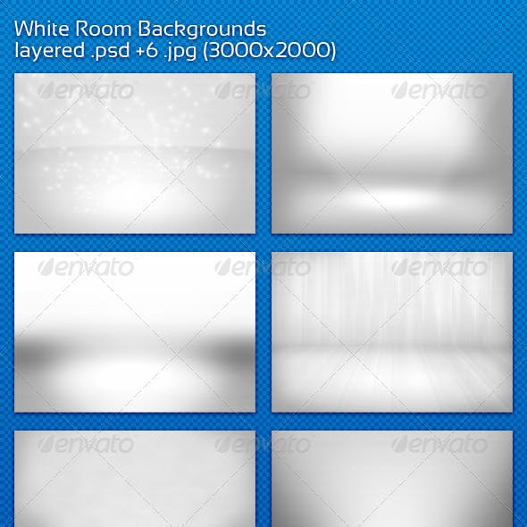 White Room Backgrounds