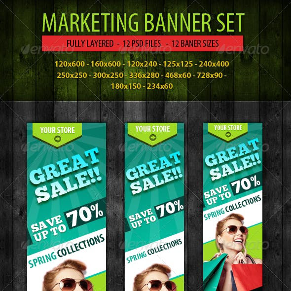 Marketing Banner Set