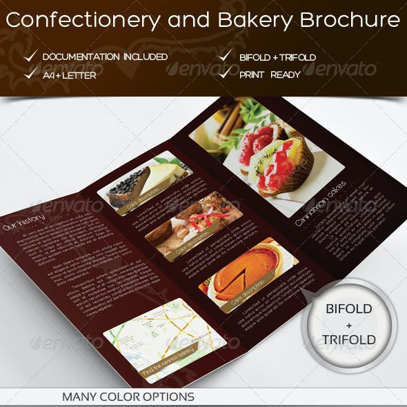 Bakery & Confectionery Brochure