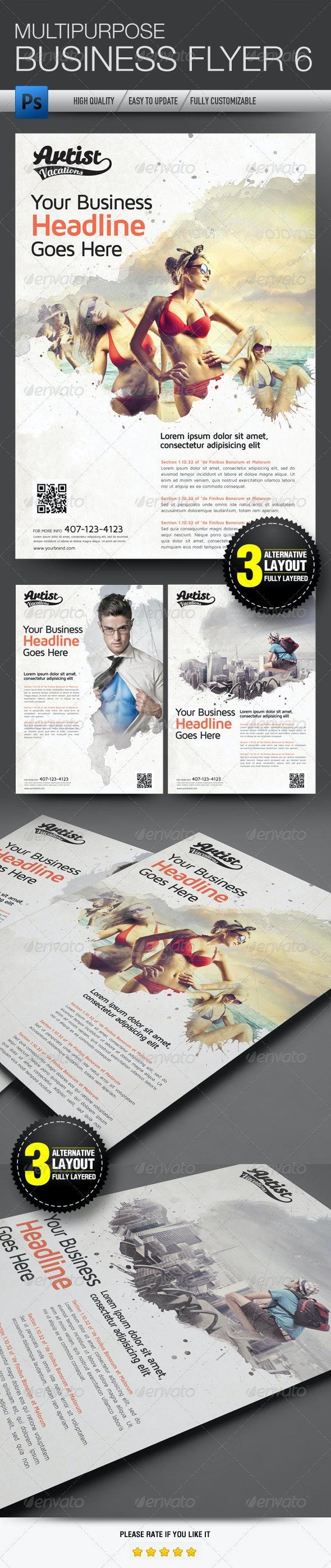 Multipurpose Business Flyer 6 - Flyers Print Templates