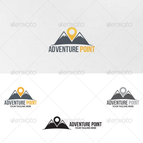 Adventure Point - Logo Template