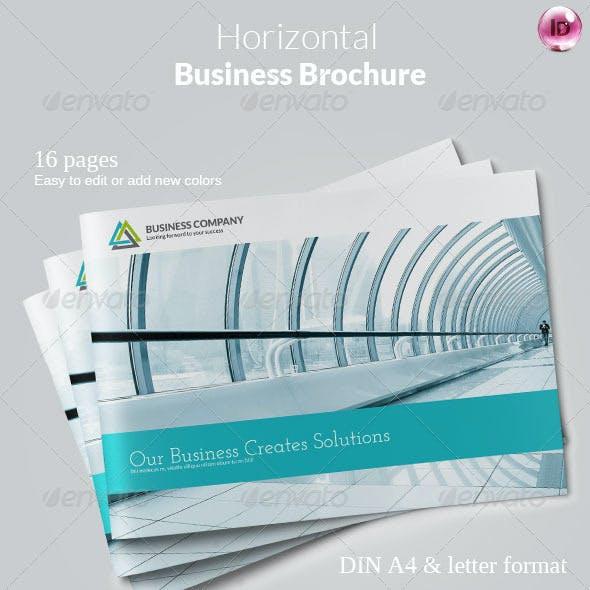 Horizontal Business Brochure