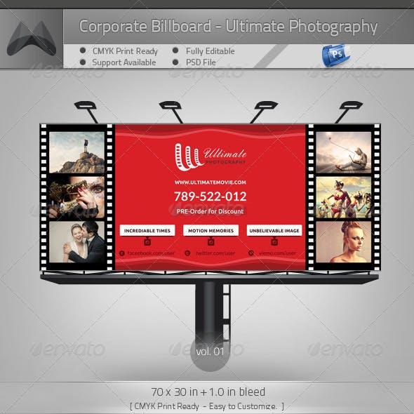 Ultimate Movie/Photography/Image - Billboard