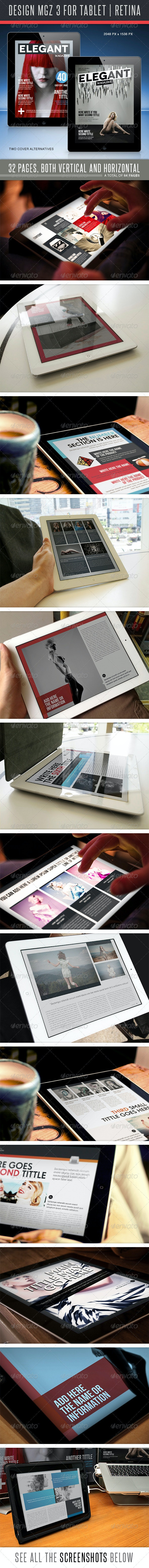 Design MGZ 3 for Tablet - Digital Magazines ePublishing