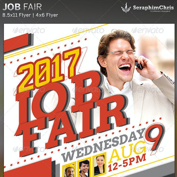 Job Fair: Corporate Flyer Template