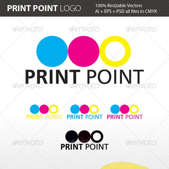 Print Point Logo Template