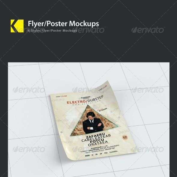 Flyer/Poster Mockups