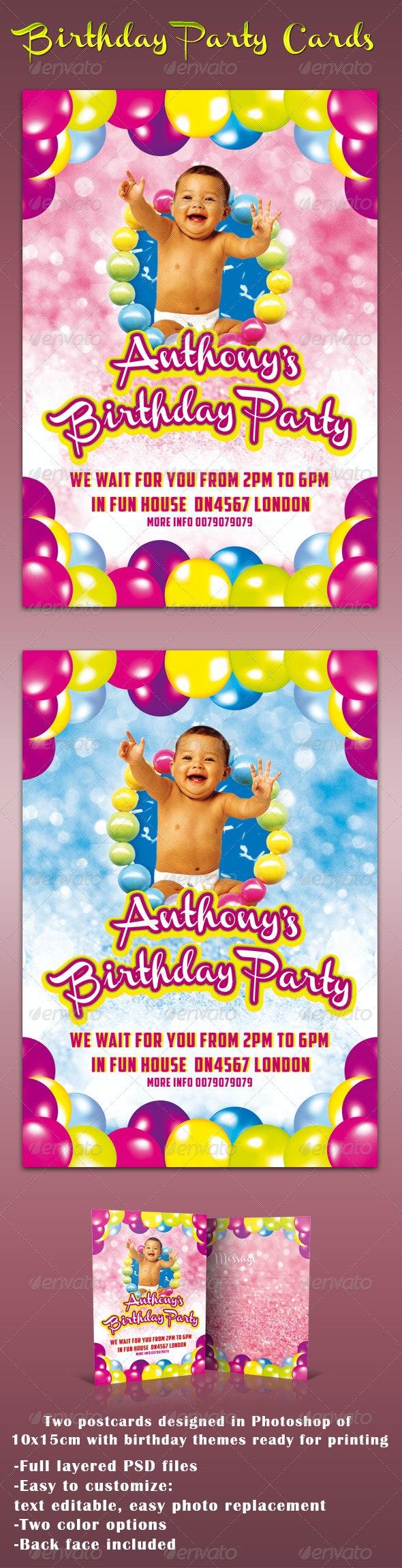 Birthday Cards - Birthday Greeting Cards