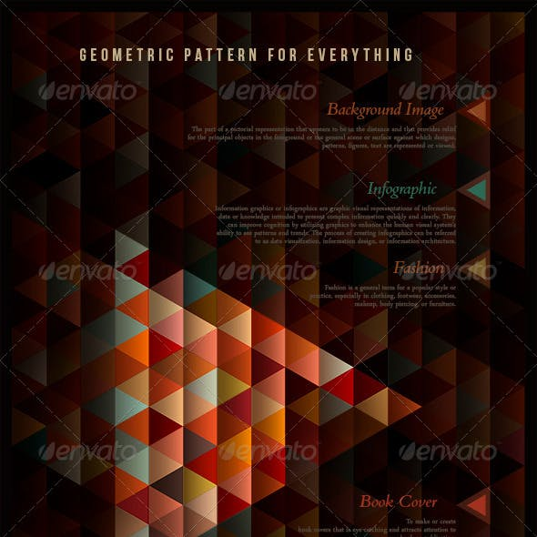Geometric Pattern for Everything
