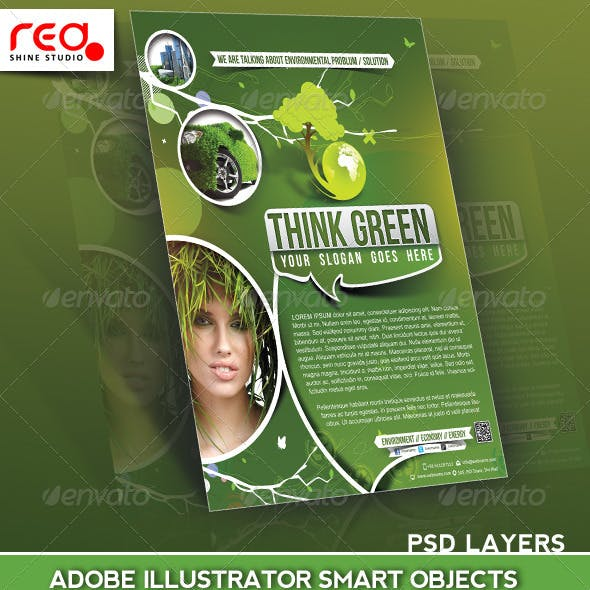 Eco Multipurpose Flyer Poster Magazine Template