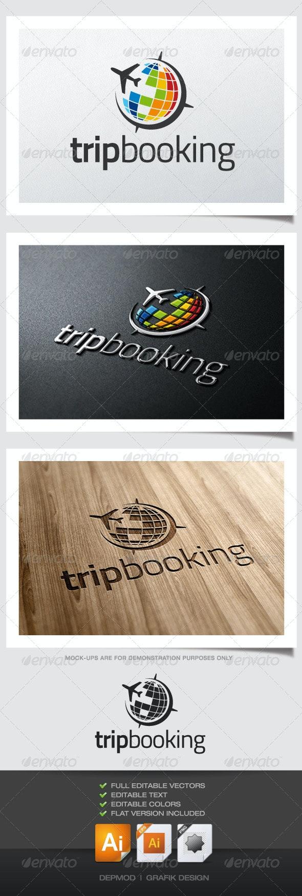 Trip Booking Logo - Symbols Logo Templates