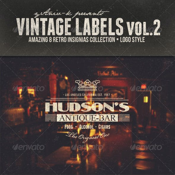 Vintage Labels Vol.2