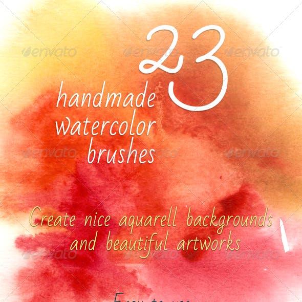 23 Handmade Watercolor Brushes