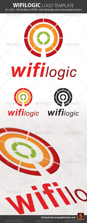 Wifilogic Logo Template - Abstract Logo Templates