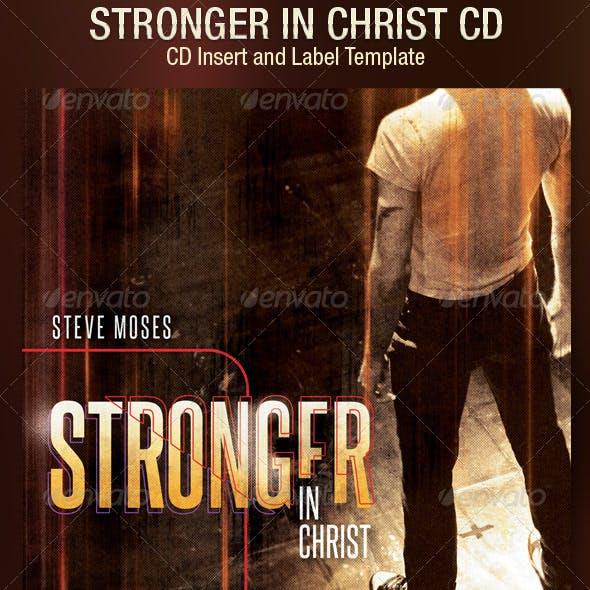 Stronger CD Artwork Template