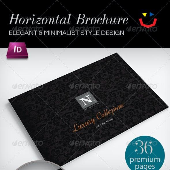 Horizontal Brochure for Real Estate