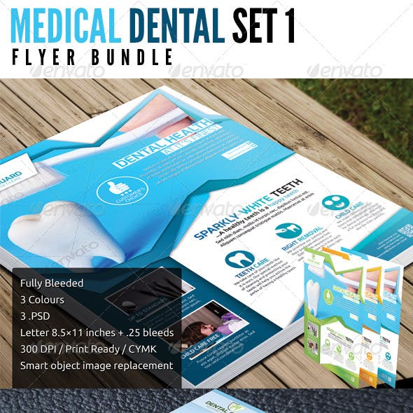 Medical Dental Bundle Set 1