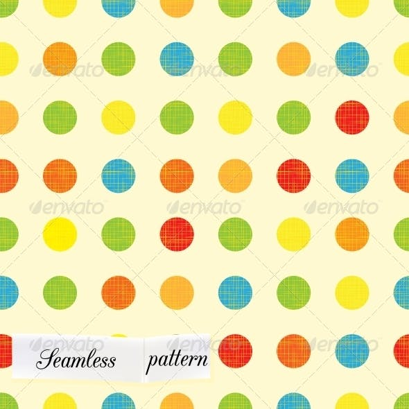 Rounds Design Seamless Pattern