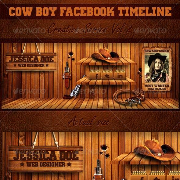Cow Boy Facebook Timeline