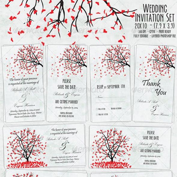 Wedding Invitation Set - 01