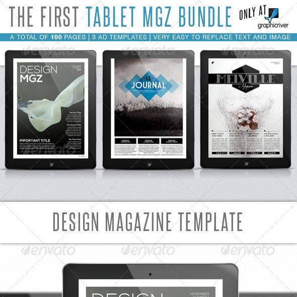 Tablet MGZ Bundle 1