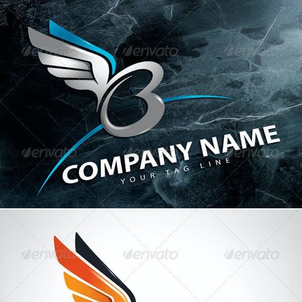 B Free Logo Template