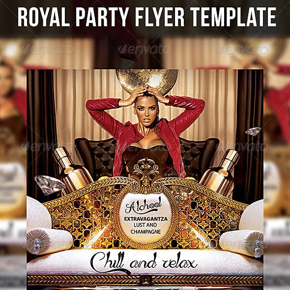Roial Party Flyer Template
