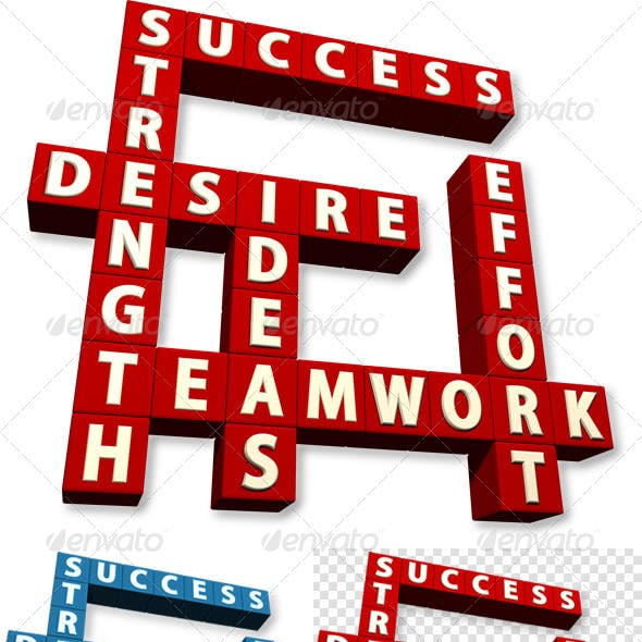 Success Crossword 3D