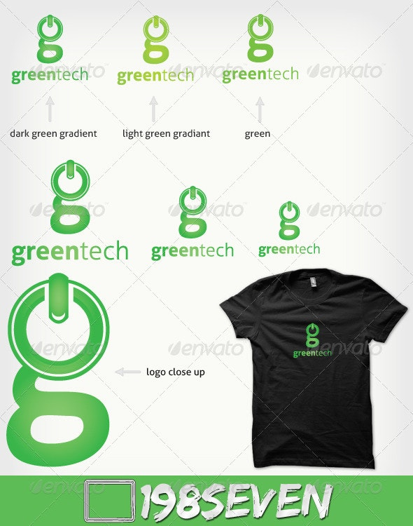 Greentech - Symbols Logo Templates